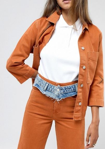 Photo of New Stupid Jeans Alert: A Company Is Selling Just the Waistband of Jeans, Which You Wear as a Belt Over Other Jeans!!