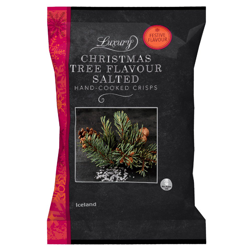 Photo of Christmas Tree-Flavored Potato Chips Are Now a Thing That Exists!