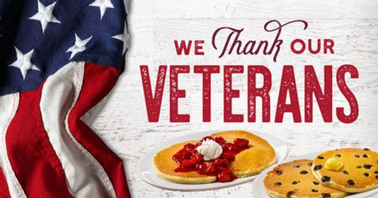 :::FOOD FREEBIES FOR VETERANS DAY