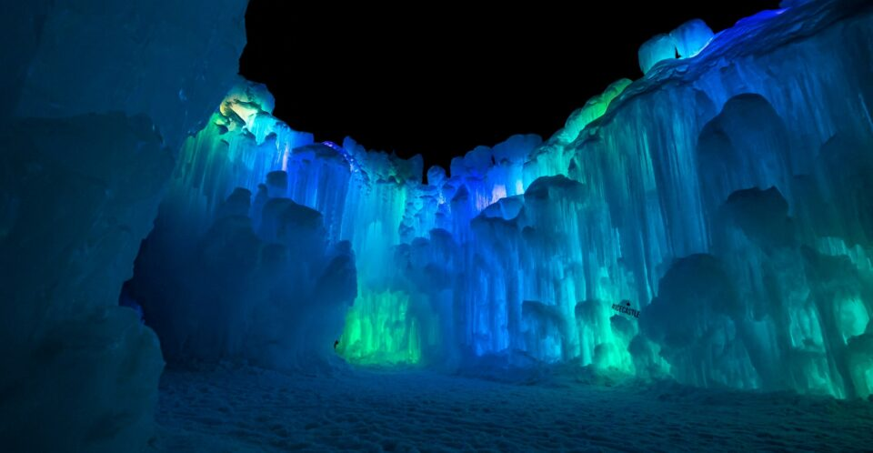 The New Hampshire Ice Castles Are Adding A New Enchanted Forest Walk