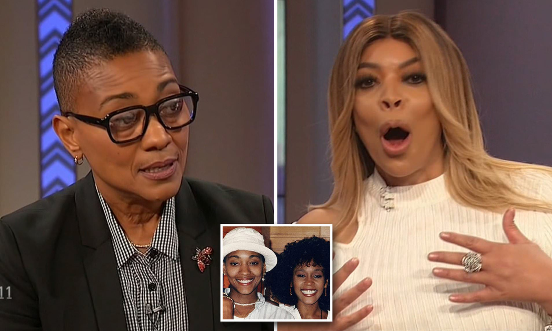 Photo of Robyn Crawford discusses Whitney Houston's drug use and Bobby Brown's alleged abuse with Wendy Williams