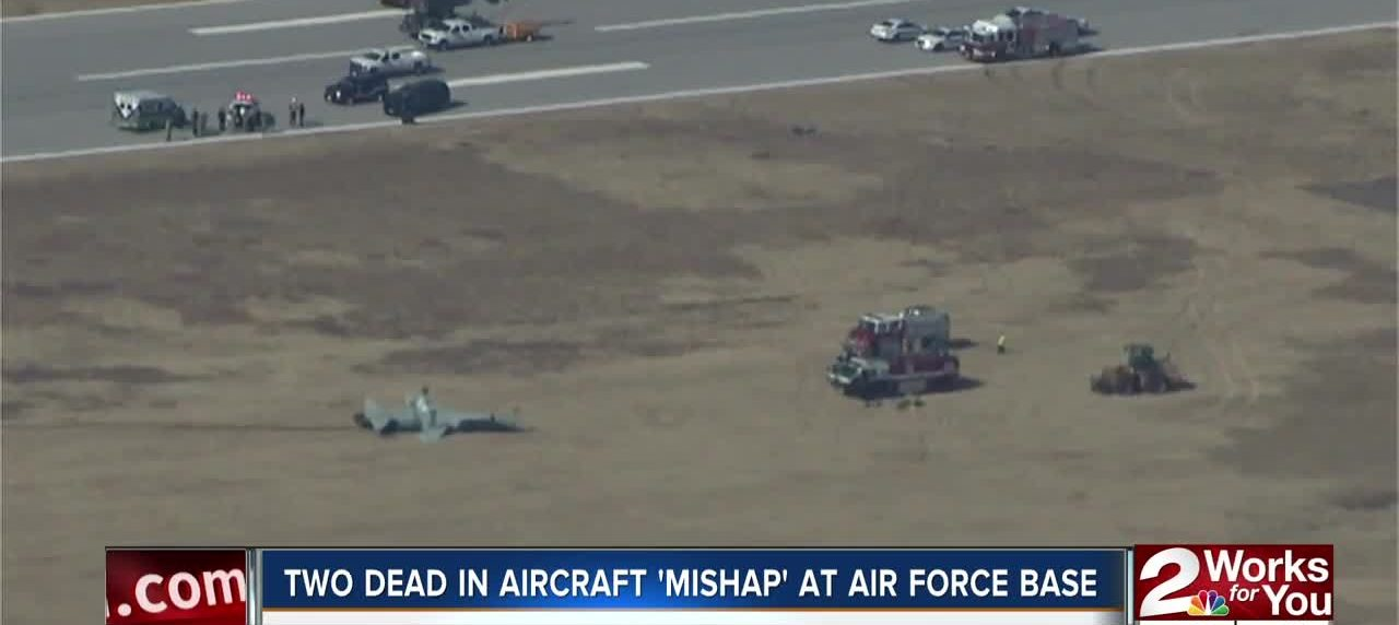 Two airmen killed during training mission mishap at Oklahoma base