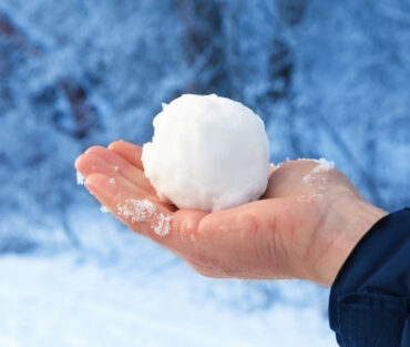 This Town Banned Throwing Snow Balls!