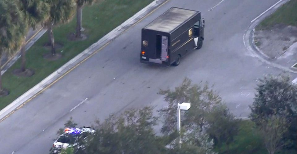 Four killed in shootout following theft of UPS truck in Florida: Police